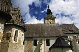 gotische Kirche St Leonhard