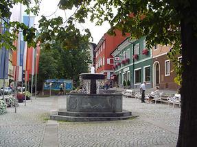 Hauptplatz von Obervellach