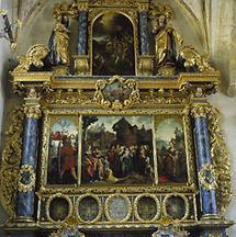 Pfarrkirche, Jan van Scorel Altar