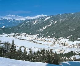 Techendorf am Weißensee im Winter