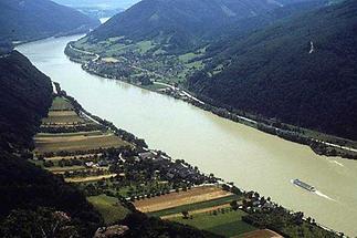 Emmersdorf Blick auf das Donautal