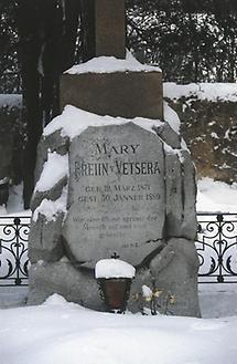 Grab Mary Vetsera, Friedhof in Heiligenkreuz