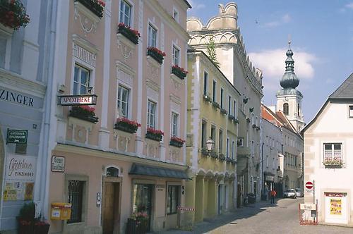 Enkelt leilighet Krems Donau