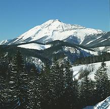 Ötscher (von Josefsberg aus), bei Mitterbach