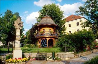 Aspach - Pfarrhofgarten