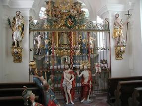 Brunnenthal - Gnadenkapelle innen