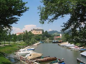 Grein an der Donau - Hafen