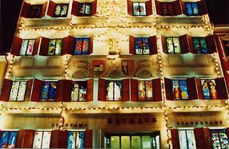 Grieskirchen - Adventkalender im Rathaus