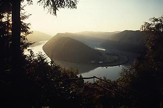 Haibach ob der Donau - Schlögener Donauschlinge bei Sonnenun