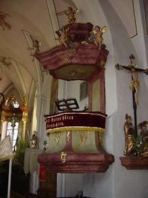 Hohenzell - Pfarrkirche St Michael von innen