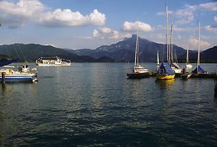 Mondsee - Yachthafen