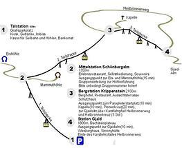 Obertraun - Krippensteinseilbahn, Überblick