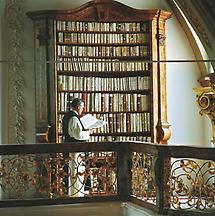 Schlierbach - Stift Schlierbach - Bibliothek