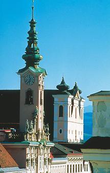Steyr - Turm des Rathauses