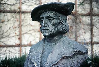 Wels - Denkmal Kaiser Maximilian I