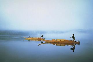 Plättenfahren am Altausseer See