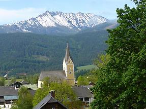 Blick auf Kammspitze