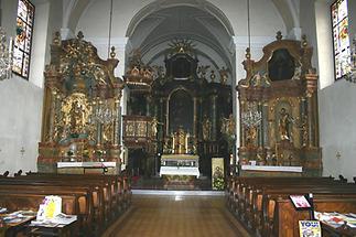 Pfarrkirche Innenansicht