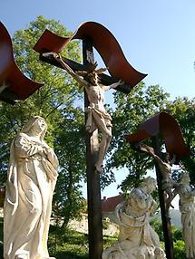 Kirchberg, Kreuzigungsgruppe