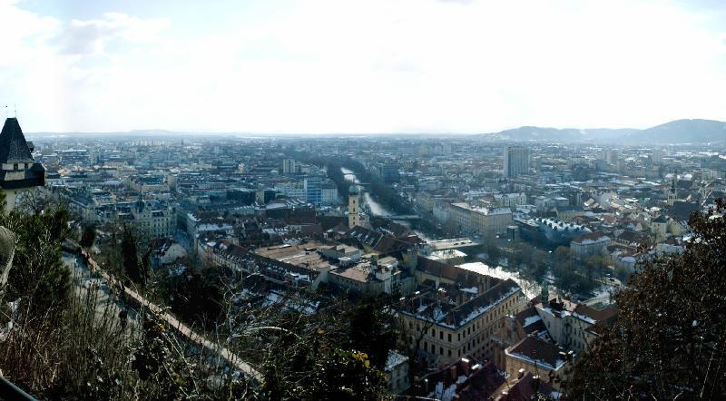 Der Küchenring Österreich ~ blick vom schlossberg graz steiermark bilder im austria forum