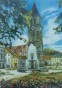Aquarell Judenburg