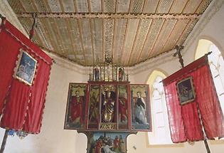 Krakauebene, St Ulrich, gotischer Altar