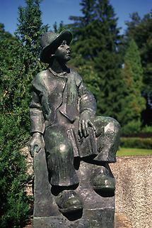 Denkmal Waldbauernbub (Peter Rosegger)