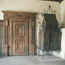 Renaissancezimmer in der Burg Strechau