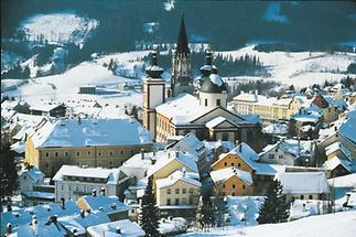 Mariazell im Winter