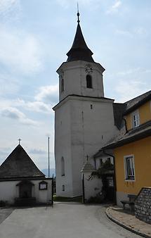 Kirchhof Eingang