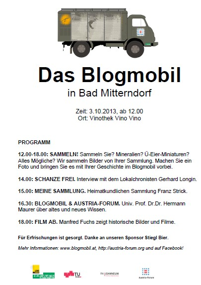 Blogmobil in Mitterndorf