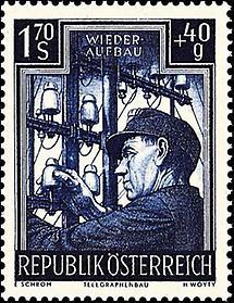 Wiederaufbau II - Telegraphenbau