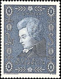 200 Geburtstag von Wolfgang Amadeus Mozart