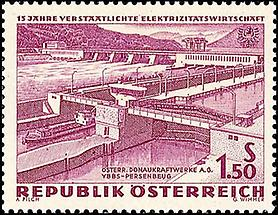 Elektrizitätswirtschaft - Donaukraftwerke 1