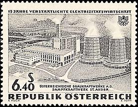 Elektrizitätswirtschaft - Donaukraftwerke 5