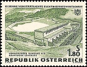 Elektrizitätswirtschaft - Illwerke