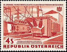 Elektrizitätswirtschaft - Umspannwerk Bisamberg