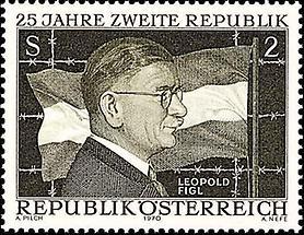 Zweite Republik - Leopold Figl
