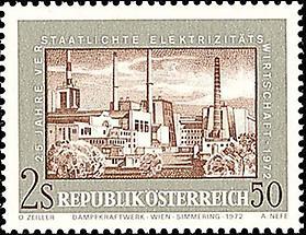 Elektrizitätswirtschaft - Dampfkraftwerk