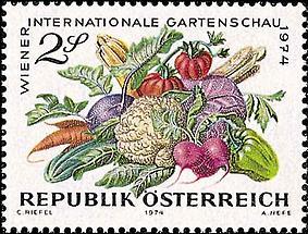 Gartenschau - Gemüse