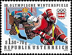 Olympische Winterspiele - Eishockeyspieler