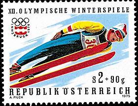 Olympische Winterspiele - Schispringer