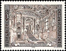 Burgtheater - Feststiege