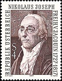 Nikolaus Joseph Freiherr von Jacquins