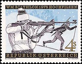 Weltmeisterschaften - Biathlon