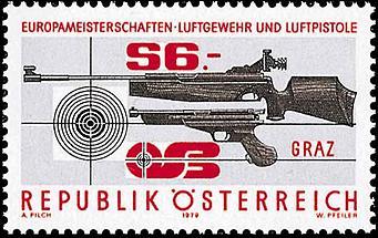 Europameisterschaften - Luftgewehr und -pistole