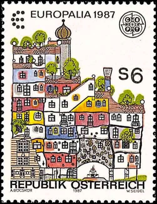 Hundertwasser-Briefmarke
