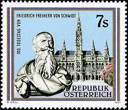 Friedrich Freiherr von Schmidt