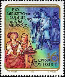 Carl Zeller und Karl Millöcker