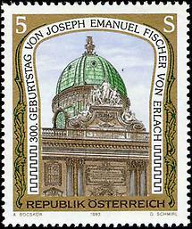 Joseph Emanuel Fischer von Erlach - Michaelertrakt